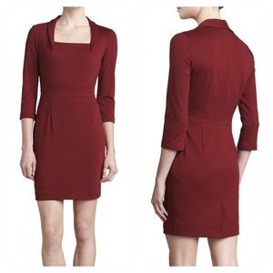 Zac Posen long sleeve square dress NWT